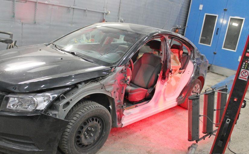 Кузовной ремонт Chevrolet Cruze