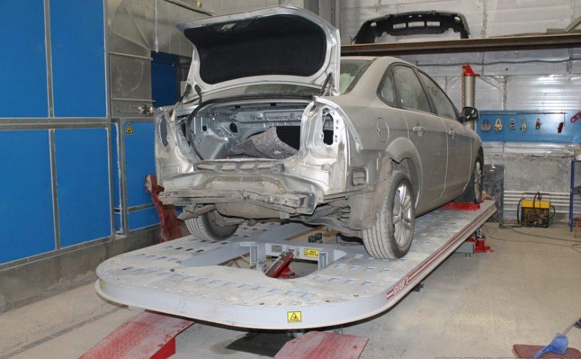 Кузовной ремонт Ford Focus 2