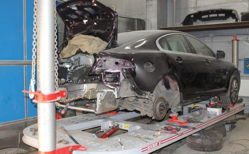 Кузовной ремонт Jaguar XF