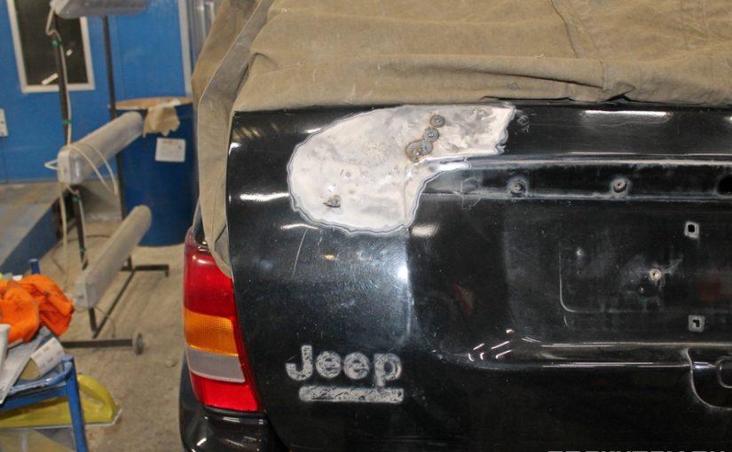 Кузовной ремонт Jeep Grand Cherokee WJ