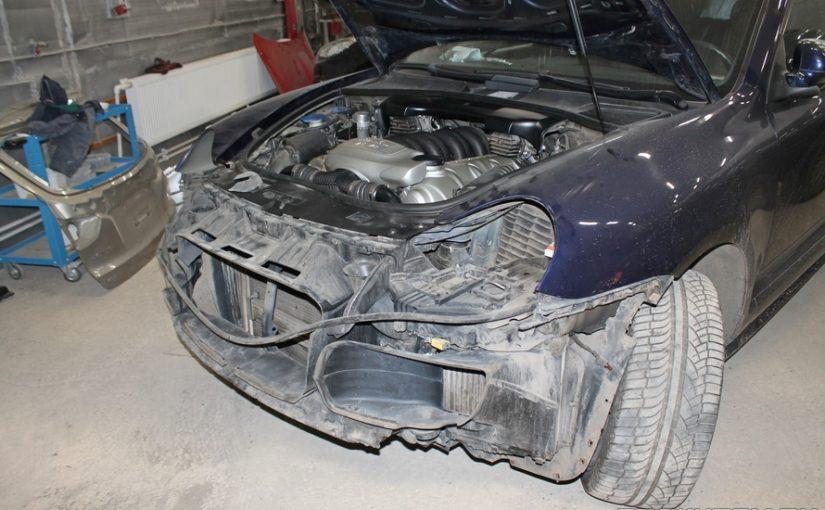 Кузовной ремонт Porsche Cayenne